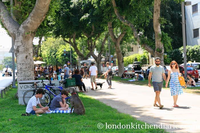 Tel Aviv's outdoor life