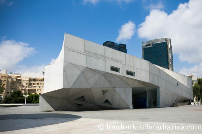 Museum of Art in Tel Aviv Israel