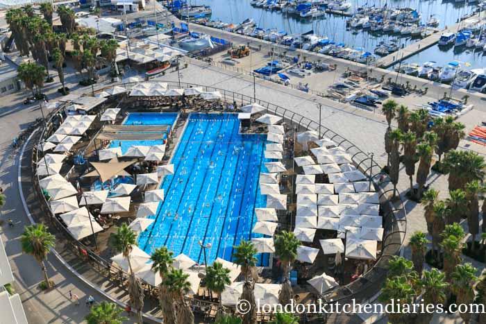 Private outdoor pool in Tel Aviv Israel