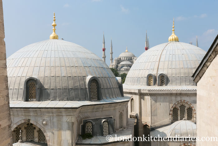 View from the window at Aya Sofya, Hagia Sophia, Istanbul