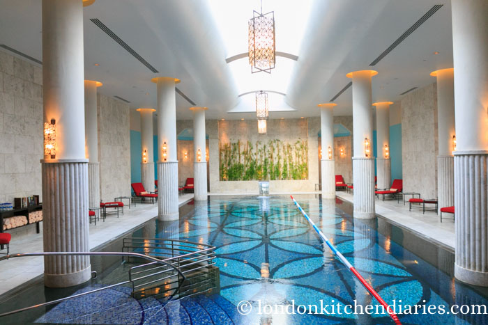 Indoor Pool at Four Seasons Hotel Istanbul at the Bosphorus