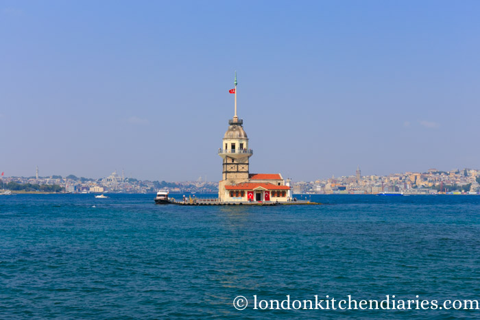 Maiden's Tower a small islet between Europe and Asia