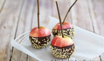 Chocolate Covered Apples for Autumn
