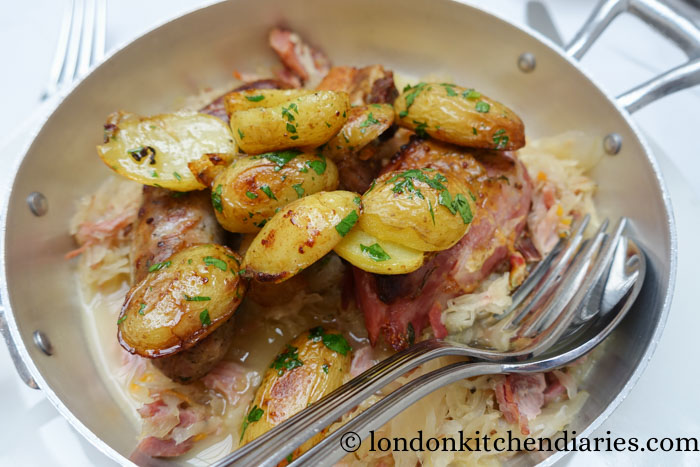 Choucroute of Golonka at Baltic in London