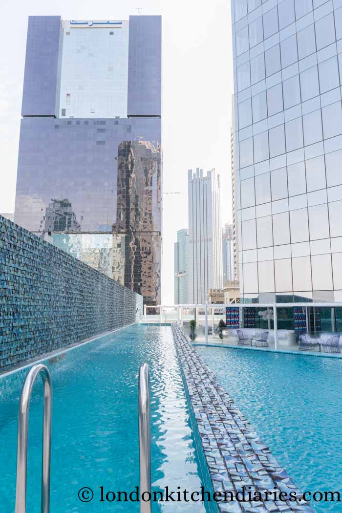 W Doha Hotel & Residences Qatar wet pool