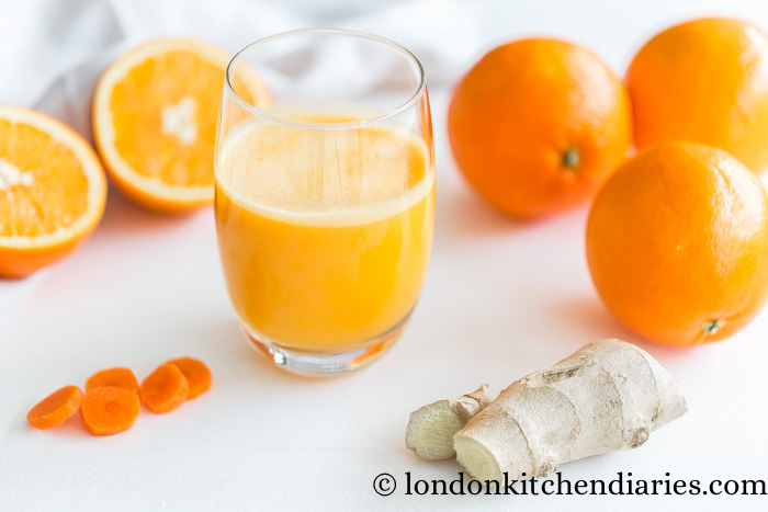 Orange Carrot & Ginger Smoothy