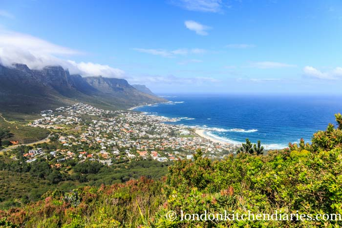 View of Camps Bay from Lion's Head Mountain
