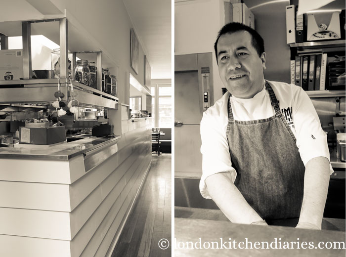 Head Chef Robert Ortiz at LIMA Fitzrovia London