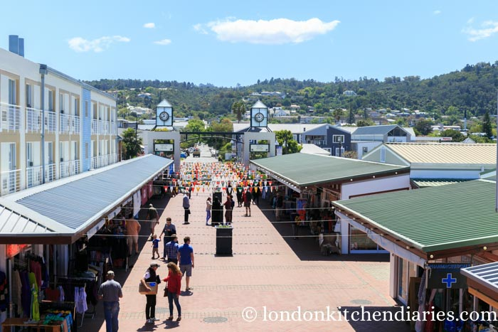 Knysna shopping area