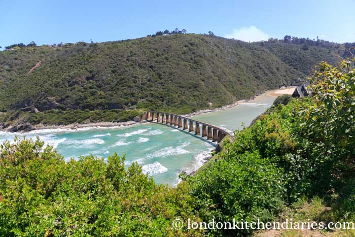 Dolphin Point bridge wilderness south africa