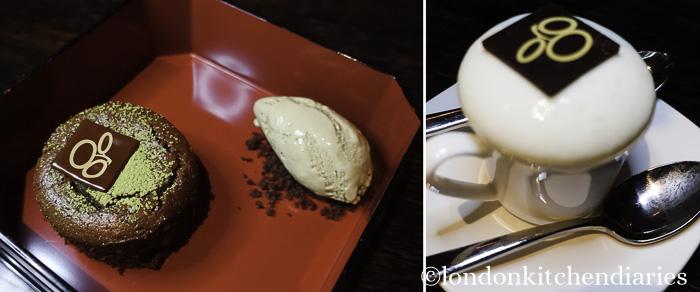 Desserts at Matsuhisa Munich review