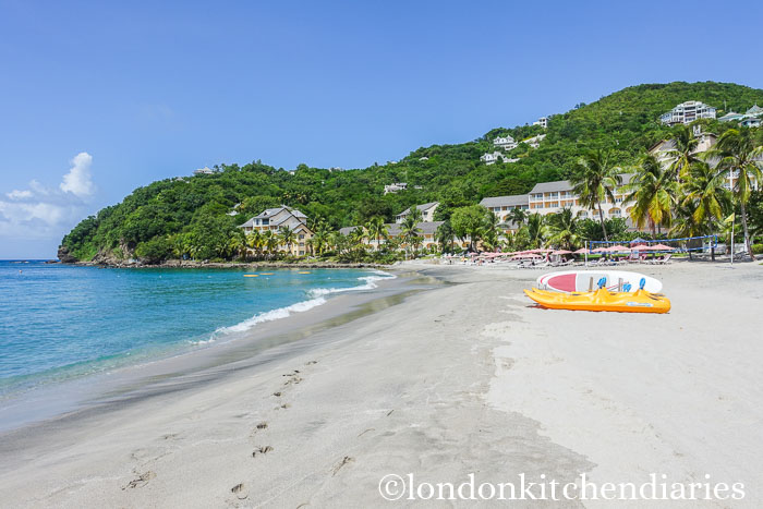 The Beach at The Body Holiday St Lucia