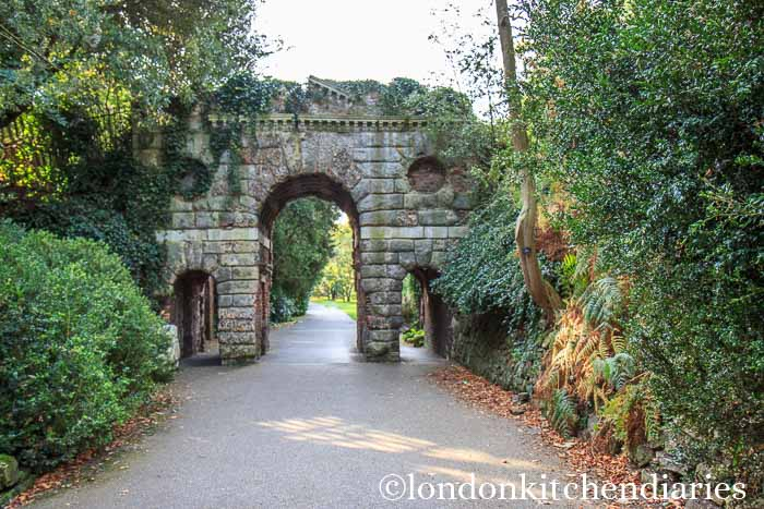 ruined arch at Kew Gardens London