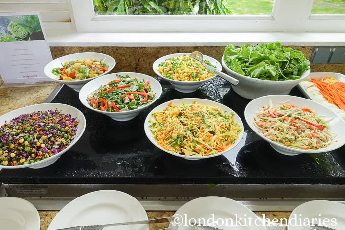 Salads at The Body Holiday St Lucia