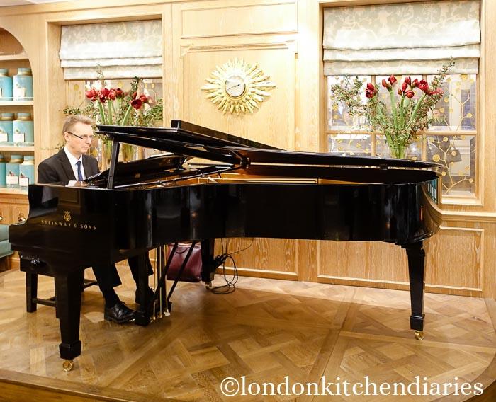 The Grand Piano at Fortnum & Mason London