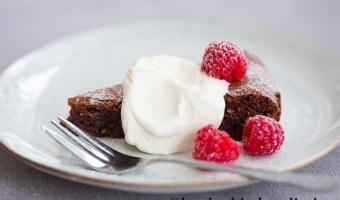 Flourless Chocolate Cake – Torta Caprese