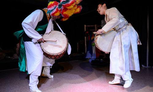 Korean Shamanist percussion