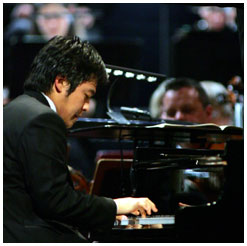 Sunwook Kim, winner of the 2006 Leeds International Piano Competition
