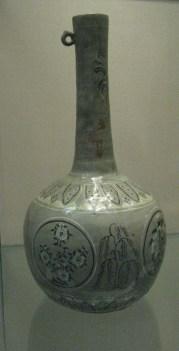 Tall necked bottle