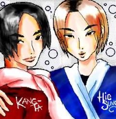 Hyesung and Kangta fantasy