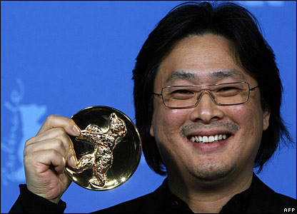 Park Chan-wook receives the Alfred Bauer award