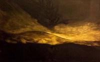 Francesca Cho: Gold Tree, 2006 (Oil on Canvas, 41 x 66 cm)