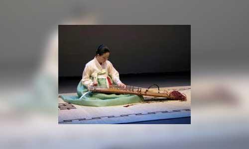 Gwon Misun - kayageum
