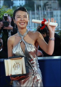 Jeon Do-yeon wins at Cannes (Photo: AFP)