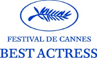 Cannes Best Actress logo