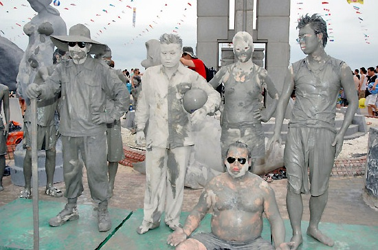 Muddy zombies