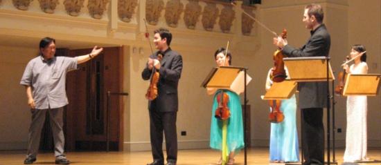 Sukhi Kang with the Sejong Soloists