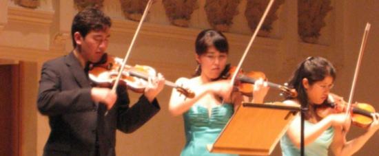 Sejong fiddlers
