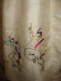 Hanboks by Lee Rhee-za: pungmul
