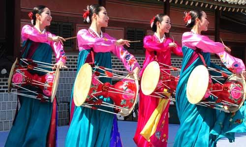 Korean Traditional Drum Dance 장구춤