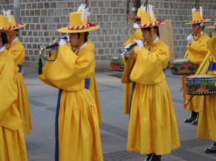 Changing the Guard at the Deoksugung, 15 February 2008