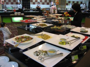 Inside the Centum Buffet, Busan