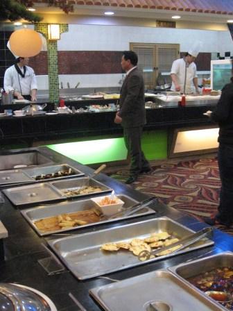Inside the Centum Buffet, Busan