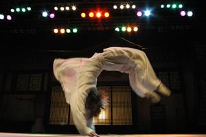Jump - flip solo