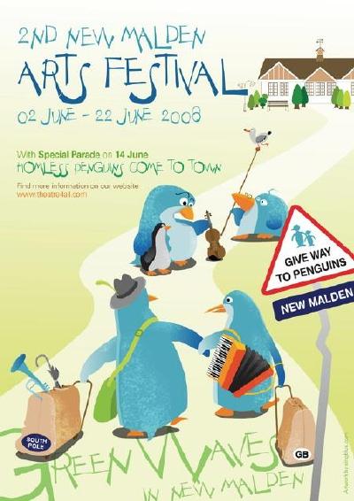 New Malden Festival flyer