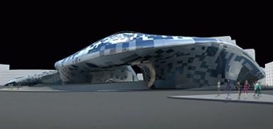 World Design Plaza, designed by Zaha Hadid