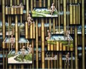 Hai-Yun Jung: Seeing and Hiding (192 x 145cm)