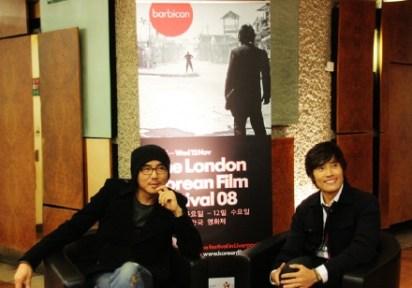 Kim Ji-woon with Lee Byung-hun