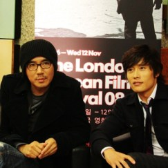 Kim Ji-woon and Lee Byung-hun