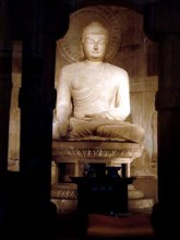 The seated Buddha