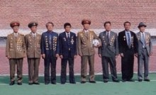 The North Korean team now