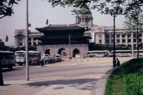Gwanghwamun and Japanese Government Building from the south, 1993
