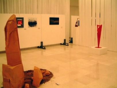 Inside the Transiti Nomadi exhibition