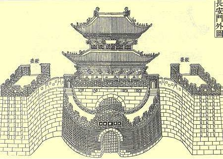 An illustration from the Hwaseong Uigwe