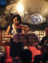 Musicians in the Kilburn Art Space