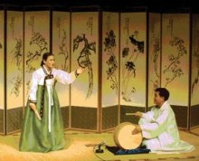 A Pansori performance